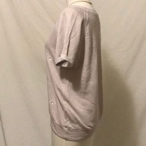 Olivia Moon Tops - Olivia Moon shirt with pearl detail Size Large